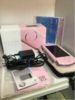 SONY Playstation Portable PSP Console Value Pack for Girls Game PSPJ-30019 Japan