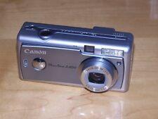 Canon PowerShot A400 3.2MP Digital Camera - Silver