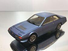BBR FERRARI 375 GT4 2+2 1972 - BLUE METALLIC 1:43 RARE - EXCELLENT - 8