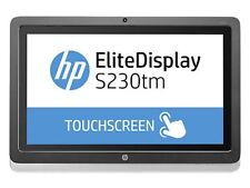 """HP E4S03A8#ABA Business 23"""" S230tm Touch Monitor used Grade A"""