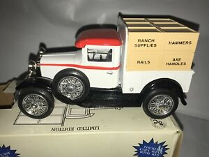 """Liberty Classic Spec-Cast Limited Edition Ford Model A Pickup """"Big R"""" Bank, 1/25"""
