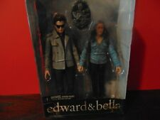 "NECA 2009 TWILIGHT EDWARD & BELLA 7"" FIGURINES 2-PACK UNOPENED PACKAGE NEW"