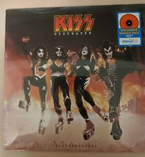 Kiss Destroyer Resurrected Walmart Exclusive Orange Vinyl New Sealed