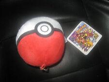 Cartoon Network Pokemon Plushie Pokeball Bag / Car Ornament