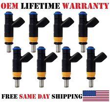 OEM Siemens (#05037479AA) set/8 reman Fuel Injectors for Jeep Commander 5.7L V8