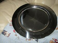 Classic Sambonet Italy Silver-Plated Stainless Steel Platter Charger Plate 15""