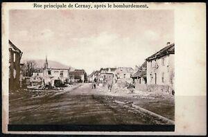 CPA - n°26 Haut Rhin CERNAY  1ere Guerre Mondiale  1914/1917