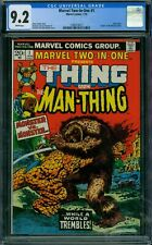 Marvel Two-In-One 1 CGC 9.2 - White Pages