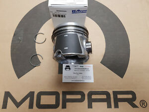 Engine Piston with Rings STD - Jeep Wrangler JK 2.8CRD 2011-2018 New OEM Mopar