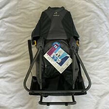 Deuter Kid Comfort 3 Framed Child Carrier for Hiking Black / Granite