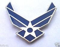 ***US AIR FORCE LOGO II WINGS *** Military Veteran Hat Pin 14211 HO
