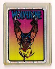 WOLVERINE Charging - 1990s Vending  Prism Sticker - Marvel X-Men Card