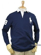 NWT Polo Ralph Lauren Men's Big Pony Long Sleeve Rugby Shirt Classic Fit $125.00