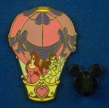 Ariel & Belle in Hot Air Balloon Little Mermaid Beauty & the Beast Pin # 63556