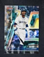 2020 Bowman's Best Base Refractor #31 Kyle Lewis RC - Seattle Mariners