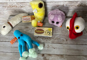 Giant Microbes By Drew Oliver Lot Plush