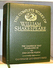 COMPLETE WORKS OF WILLIAM SHAKESPEARE, Leather