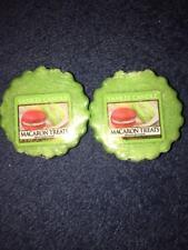 YANKEE CANDLE 2 Wax Tarts - MACARON TREATS