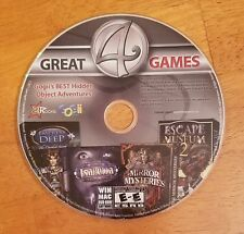 Gogii's Best Hidden Object Adventures 4 Great Games DISC ONLY 21 Rocks Isabella