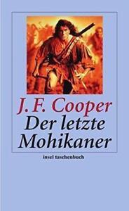 Der letzte Mohikaner *Insel Taschenbuch/Klassiker v. J. F. Cooper **NEU+SOFORT**