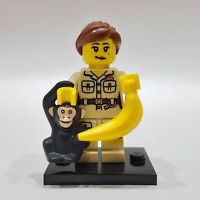 "LEGO Collectible Minifigure #8805 Series 5 ""ZOOKEEPER"" (Complete)"