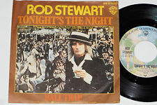 """Rod Stewart-cette nuit's the night/the Ball Trap - 7"""" 45 Warner Bros. Records"""