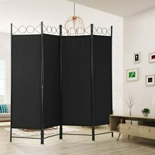 4 Panel Room Divider Folding Privacy Screens Room Seperating Office Dividers