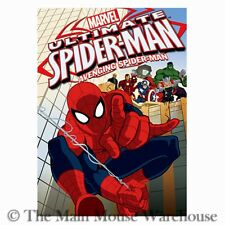 Marvel Ultimate Spider-Man Avenging Spider Man Animated Show Avengers Shield DVD