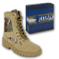 DESERT PATROL BOOTS BRITISH ARMY COMBAT MULTICAM MTP ARMY TACTICAL MILITARY