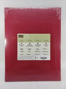 RASPBERRY RIPPLE Cardstock 8.5 X 11 Stampin Up #126842 NEW