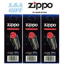 Zippo 3 Flint Value Pack (18 Flints) 1FLT-Z