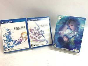 SONY  PS Vita Final Fantasy X/X-2 HD Remaster Twin Pack Square Enix Japan Fedex