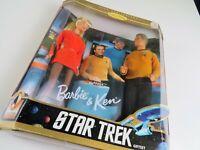 Barbie Doll 1996 STAR TREK Gift Set Barbie & Ken Collector Edition Open Package