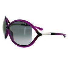 Tom Ford Gafas De Sol 0009 Withney 75b BRILLANTE ROSA FUXIA Gris Ahumado