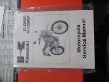 99924-1393-02 - Kawasaki Service Manual: KLX250S/250SF
