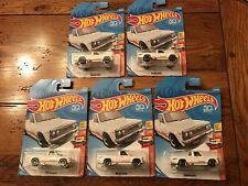 2018 Hot Wheels MAZDA REPU Truck 1974 Yokohama Lot of 5 FIVE White