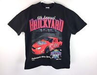VTG 6th Annual BrickYard 400 Nascar Racing Graphic T-Shirt