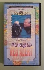 the new explorers with bill curtis  MANATEES : RED ALERT       VHS VIDEOTAPE