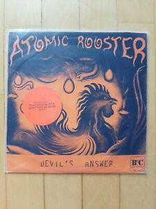 """ATOMIC ROOSTER Devil's Answer - 7"""" Single"""