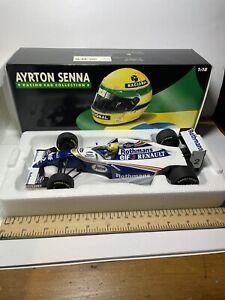 Minichamps 1:18 Ayrton Senna Williams Renault FW16 1994 Rothmans With Box