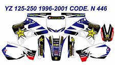N446 YAMAHA YZ 125-250 1996-2001 Autocollants Déco Graphics Stickers Decals Kits