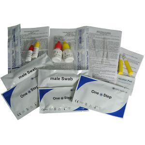 Chlamydia Test, Gonorrhoea, Syphilis Testing Kits Professional STI STD Screening