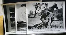 "3 VINTAGE 8""X10"" PHOTO JOHN ERICSON THE RETURN OF JACK SLADE BLANCHARD BRAND  (A"