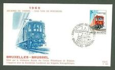 Trains, Railroads First Day Covers Postal Stamps