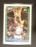 Christian Laettner RC 1992-93 Topps Draft Pick Rookie #334 Nrmt-Mint
