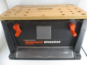 Black & Decker Workmate WM450 Workbox Tool Box Work Bench Good Cond.