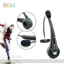 Trucker over the Head Wireless Bluetooth boom Mic Headset for PS3 PC Phones