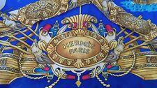 HERMÈS TRÈS CHIC GILET  T. 54 VINTAGE . 100 % SOIE