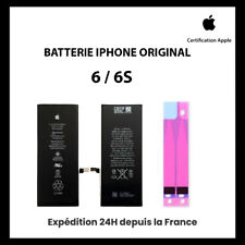 BATTERIE IPHONE 6 / 6S ORIGINAL INTERNE NEUVE + Adhésif