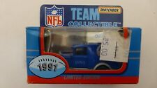 1991 Matchbox NFL Team Collectible Diecast Limited Edition DETROIT LIONS